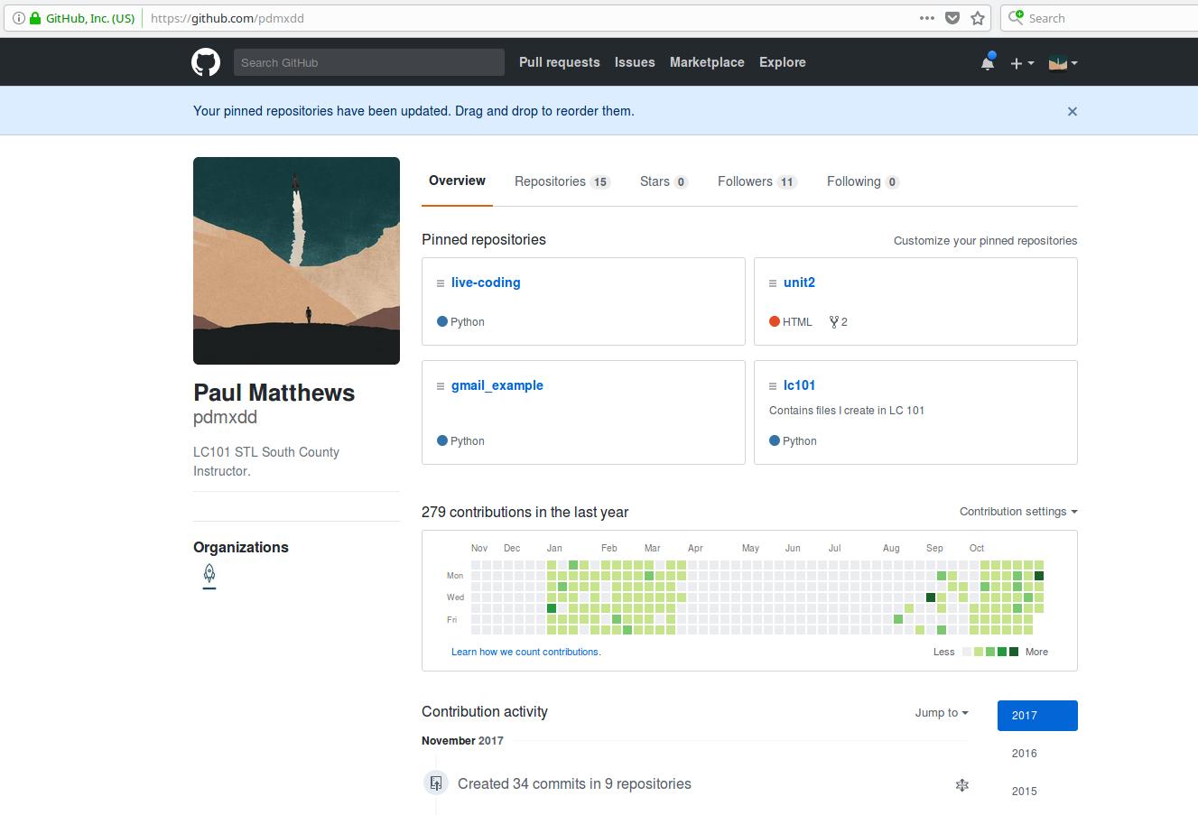 Online Profiles: GitHub — LaunchCode Career Readiness