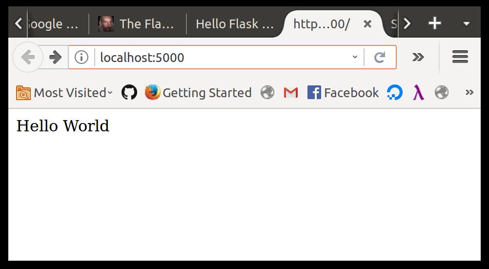 Hello Flask :: Unit 2: Web Fundamentals